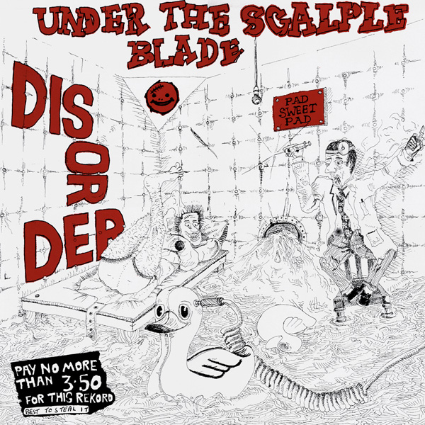 Disorder - Under The Scalpel Blade 1984