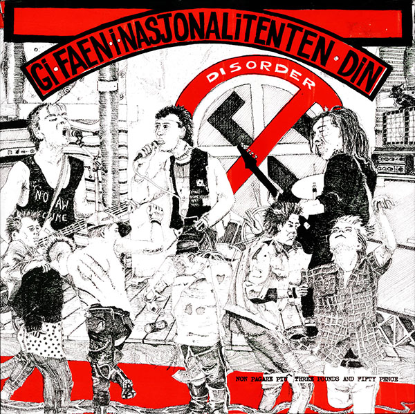Disorder - Gi Faen I Nasjonalitenten Din 1985