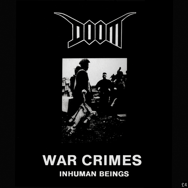 Doom - War Crimes - Inhuman Beings 1988