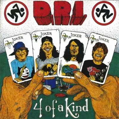 Dirty Rotten Imbeciles - 4 Of A Kind - 1988
