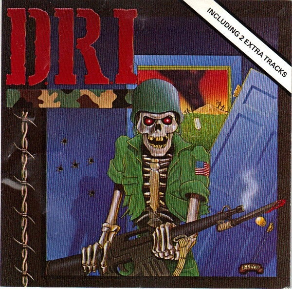 Dirty Rotten Imbeciles - Dirty Rotten LP - 1983