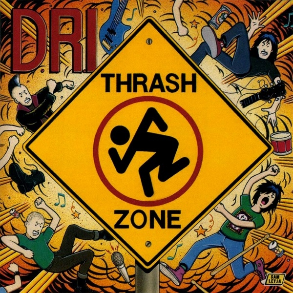 Dirty Rotten Imbeciles - Thrash Zone - 1989