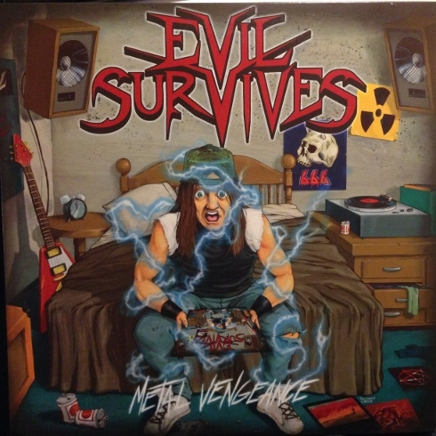 Evil Survives - Metal Vengeance - 2008
