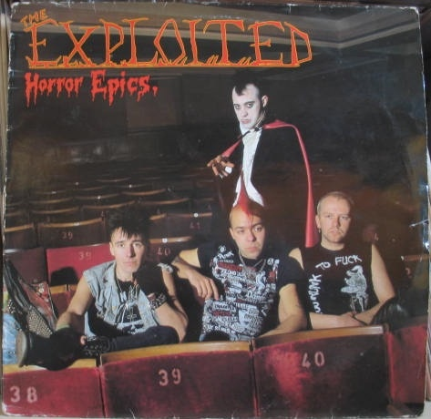 The Exploited - Horror Epics - 1986