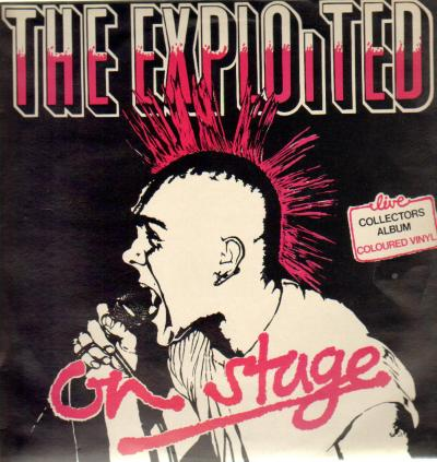 The Exploited - Live On Stage 1981