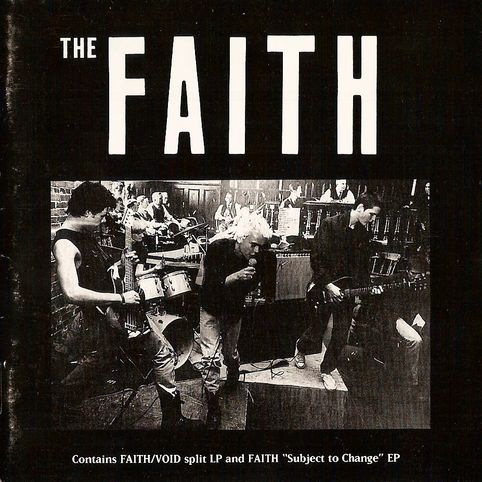 Faith - Void + Faith Split (CD) 1983