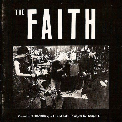 Faith - Void + Faith Split (CD) 1983