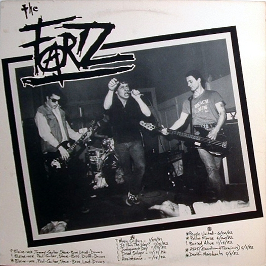The Fartz - You, We See You Crawling 1981/1982