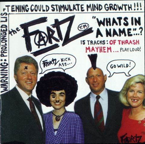 The Fartz - Whats In A Name... 2001