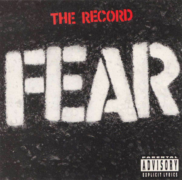 Fear - The Record - 1982