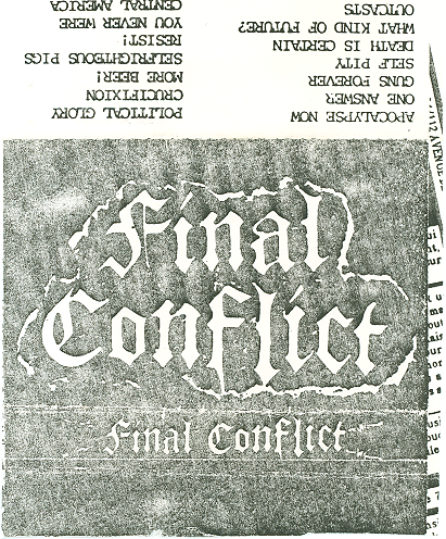 Final Conflict - Nineteen Eighty-Five Demo - 1985