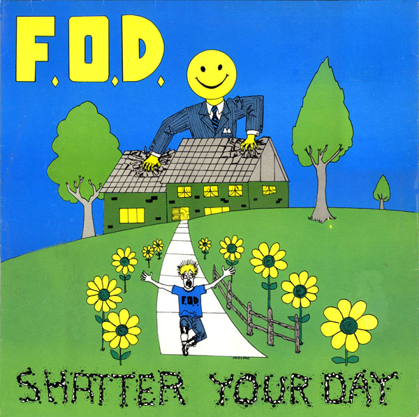 Flag Of Democracy - Shatter Your Day - 1986