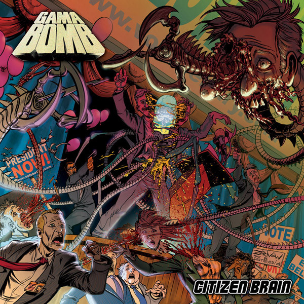 Gama Bomb - Citizen Brain - 2008