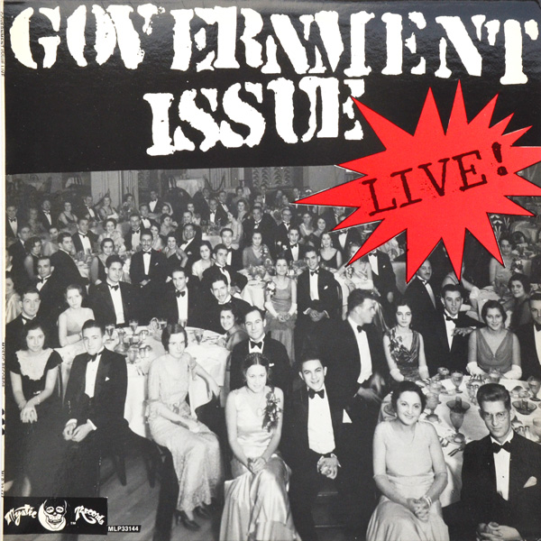 Government Issue - Live 1985