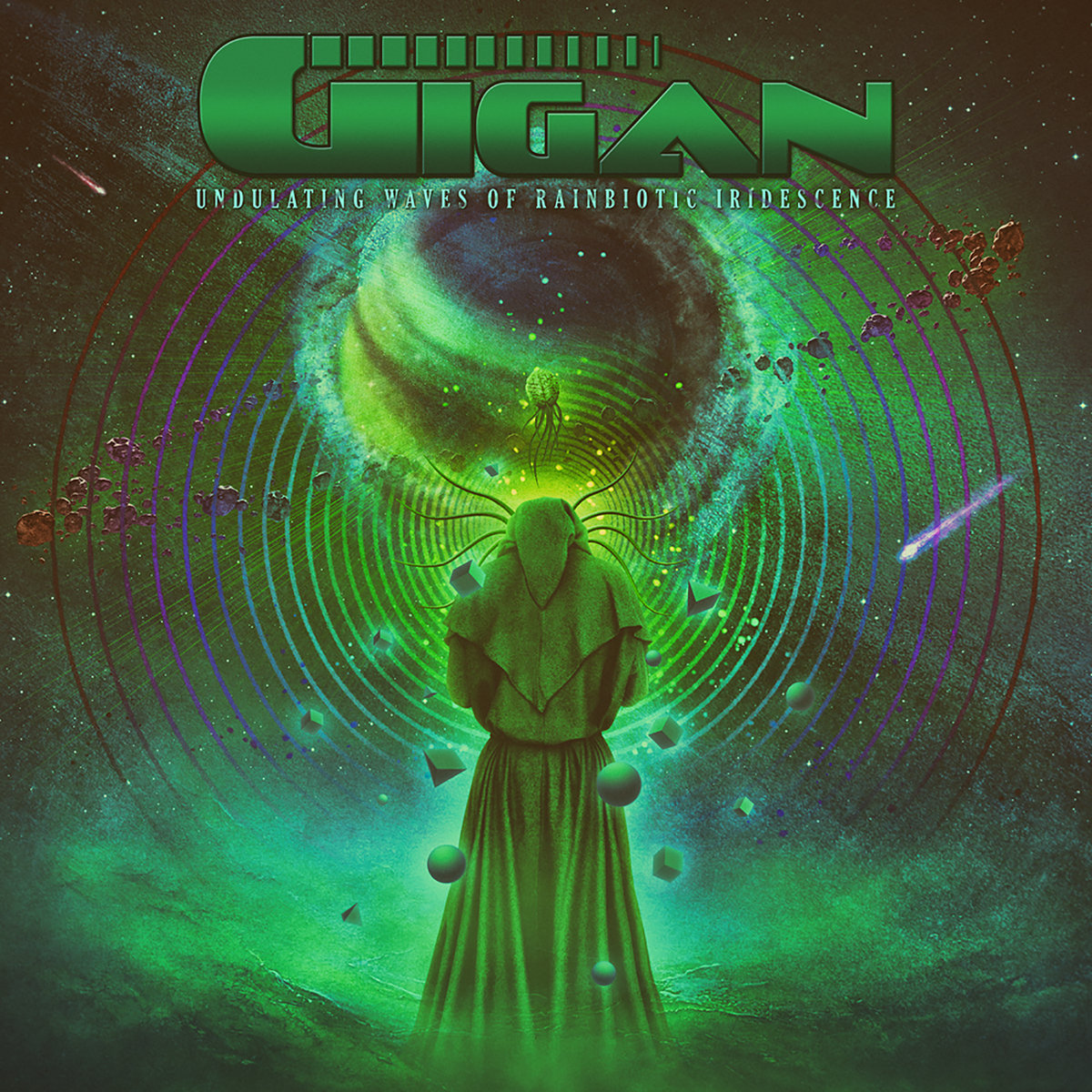 Gigan - Undulating Waves Of Rainbiotic Iridescence - 2017
