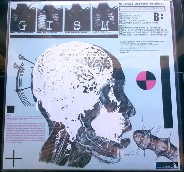G.I.S.M. - Militaly Affairs Neurotic - 1987
