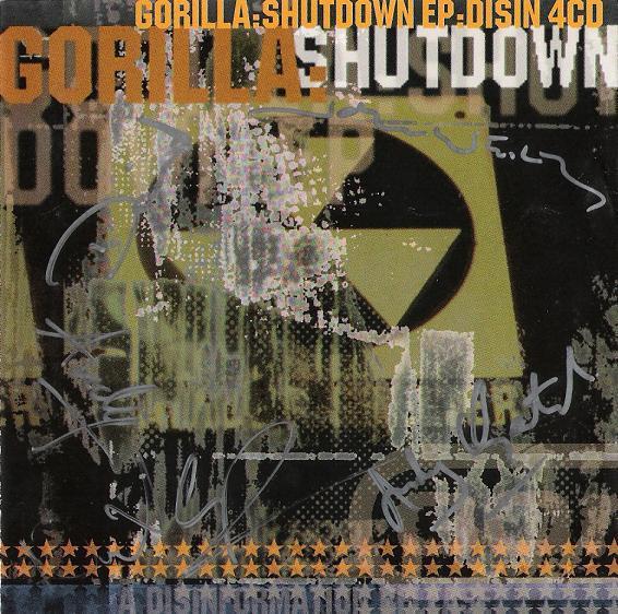 Gorilla - Shutdown EP - 1995