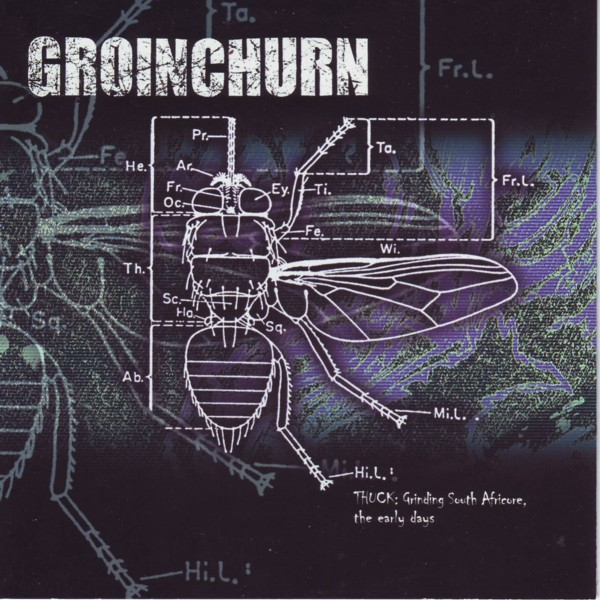 Groinchurn - Thuck - Grinding South Africore, The Early Days 1994