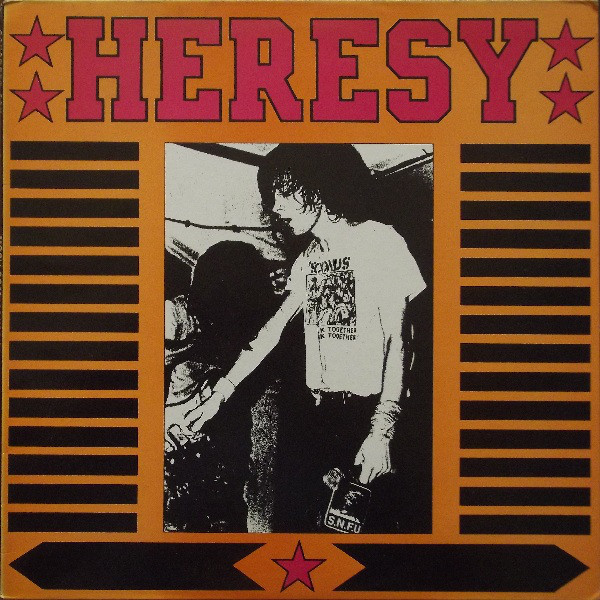 Heresy, Concrete Sox - Concrete Sox / Heresy - 1987