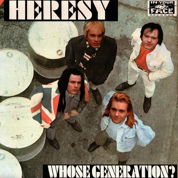 Heresy - Whose Generation? - 1989
