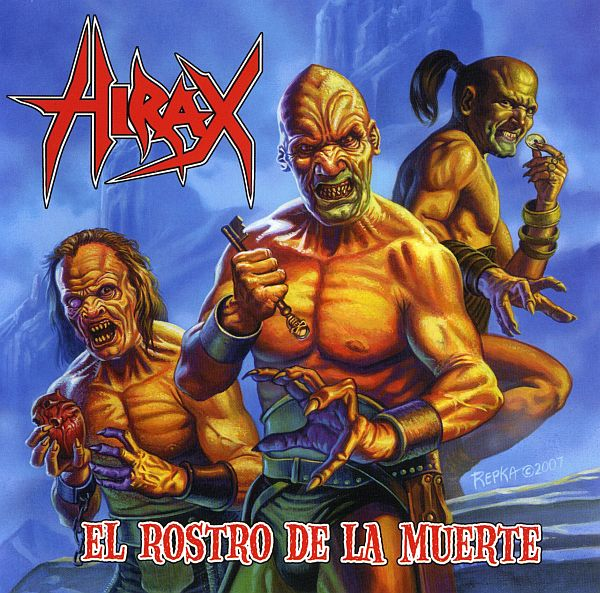 Hirax - El Rostro De La Muerte (The Face Of Death) 2009