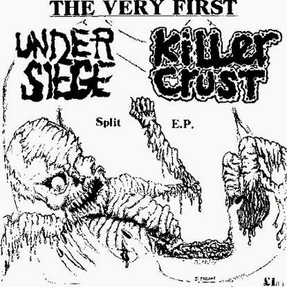 Under Siege - Split E.P. 1989