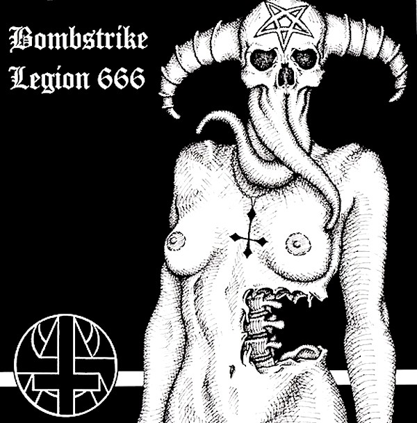 Bombstrike, Legion 666 - Temple Of Blasphemy - 2004