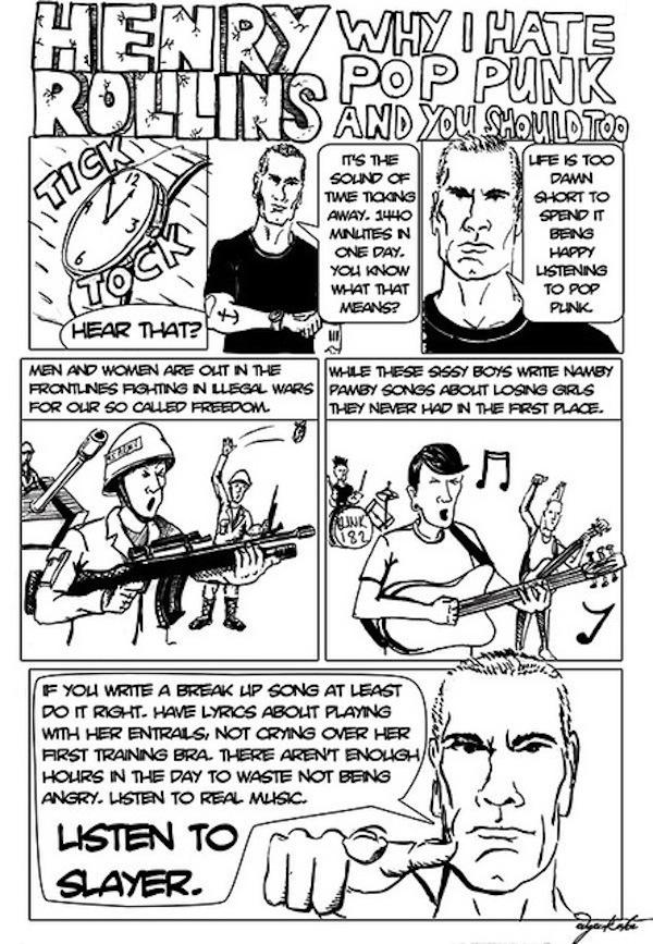 Henry Rollins Bombe Arschloch #10