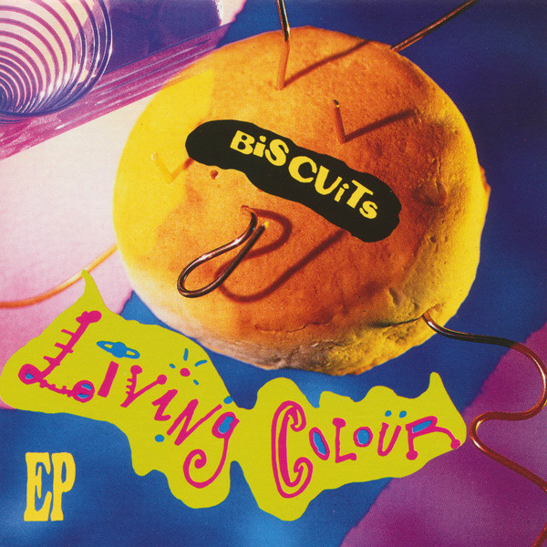 Living Colour - Biscuits EP - 1991