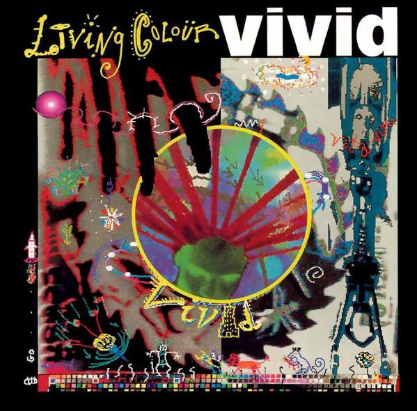 Living Colour - Vivid - 1988