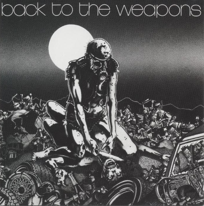 Living Death - Back To The Weapons - 1986