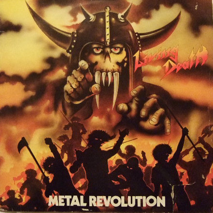 Living Death - Metal Revolution - 1985