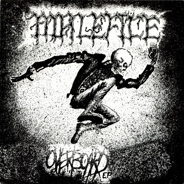 Malefice - Overboard E.P. - 1989