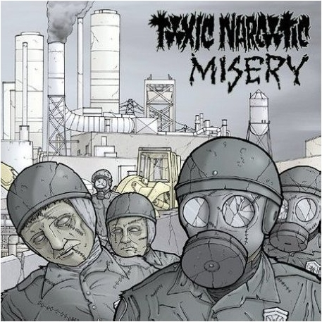 Toxic Narcotic - Split Misery 2004