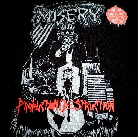 Misery - Production Thru Destruction - 1991