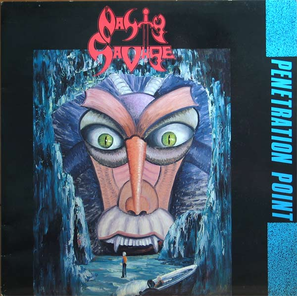 Nasty Savage - Penetration Point - 1989