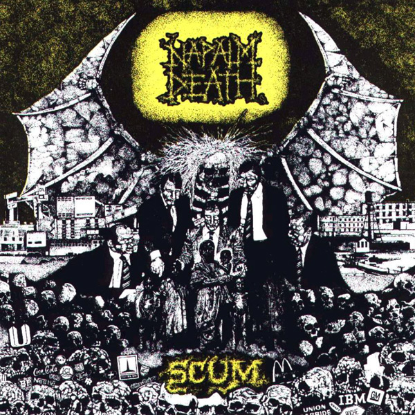 Napalm Death - Scum 1987