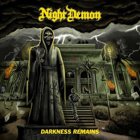 Night Demon - Darkness Remains - 2017