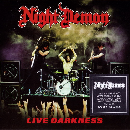 Night Demon - Live Darkness - 2018