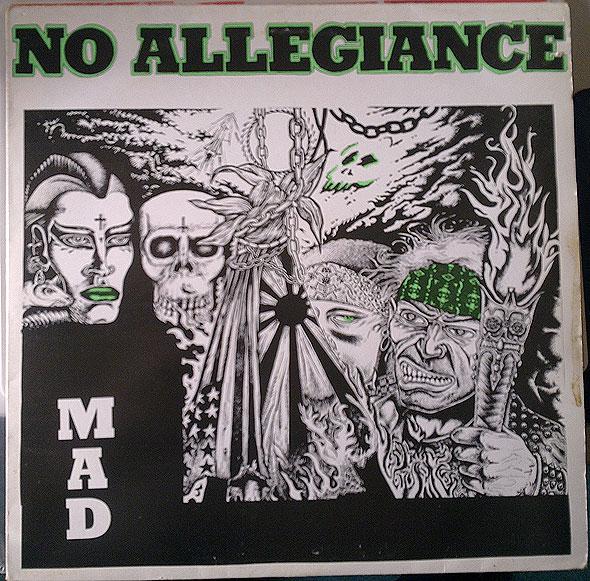 No Allegiance - Mad 1986