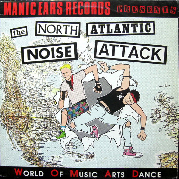 Various - The North Atlantic Noise Attack - 1989