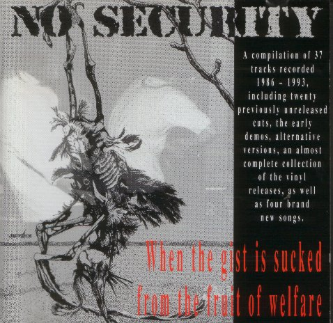 No Security - When The Gist Is Sucked From The Fruit Of Welfare The Ugly Faces Of Truth Will Show 1993