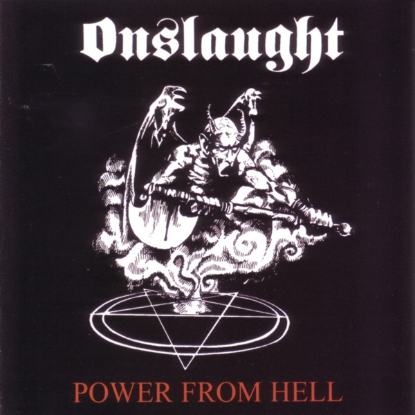 Onslaught - Power From Hell CD 1985