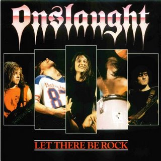 Onslaught - Let There Be Rock 12'' 1987