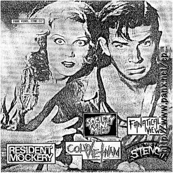 Various - Panx Vinyl Zine 02 - 1989