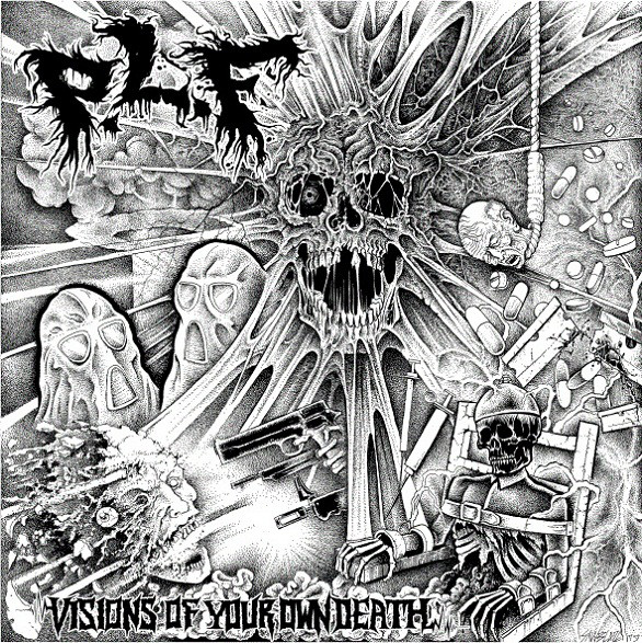 In Disgust, Pretty Little Flower - Pray For Death / Visions Of Your Own Death - 2010