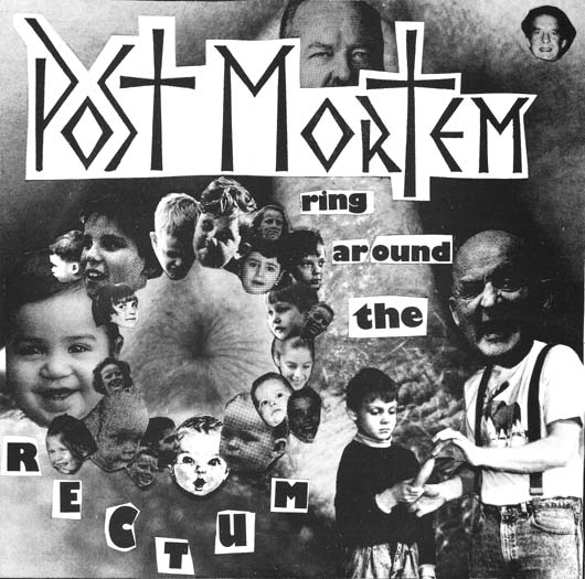 Post Mortem - Ring Around The Rectum 7'' 1990