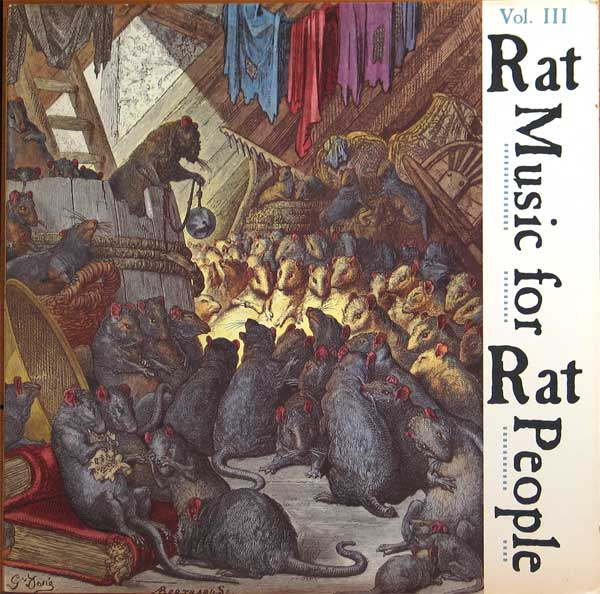 Various - Rat Music For Rat People Vol. Lll - 1987