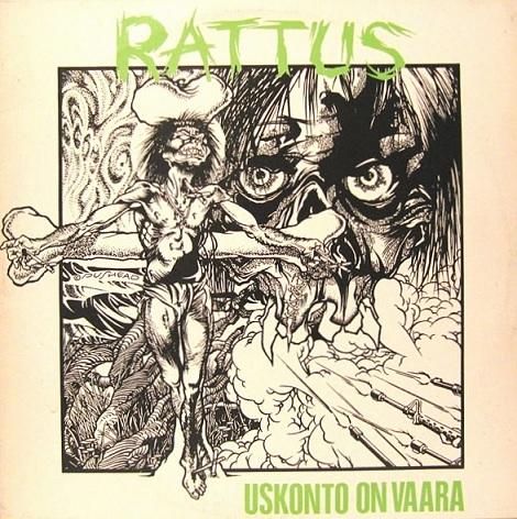 Rattus - Uskonto On Vaara 1984