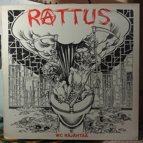 Rattus - Wc Räähtää 1983
